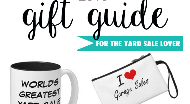 Holiday Gift Guide: 9 thoughtful gifts that are sure to make any yard sale lover happy!
