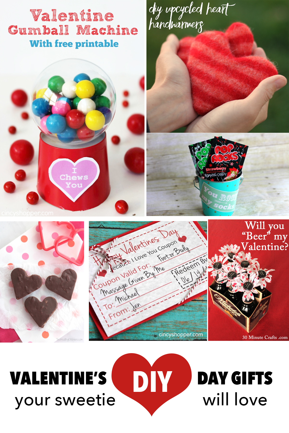 14 DIY Valentine's Day Gifts your Sweetie will actually ...