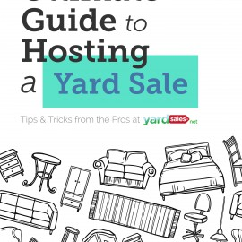 """""""The Ultimate Guide to Hosting a Yard Sale"""" eBook Now Available in Amazon store!"""