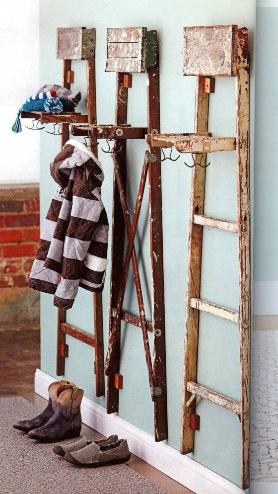 ladder-coat-rack